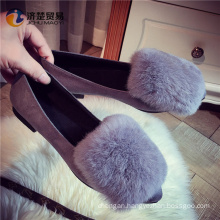 Suede puttee fur cheap wholesale shoes in china women sneakers