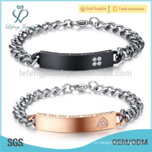 Nuevas pulseras románticas, pulseras del amante