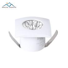 Wolink ajustável superfície montada alumínio led cob recesso downlight