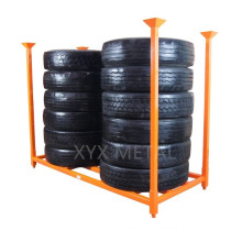 Heavy Duty Stackable Stacked Rack for Truck, Bus, Aircraft & Military Tires