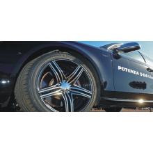 Fil de polyester résistant à la friction des pneus de voiture automobile