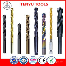 DIN345 drilling metal hss tapered stone drill bits
