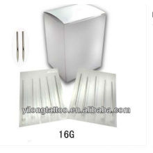 Agulha de perfuração G16 316L inox