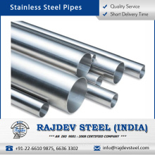 Genuine Quality Durable Standard Stainless Steel Pipe with Long Service Life