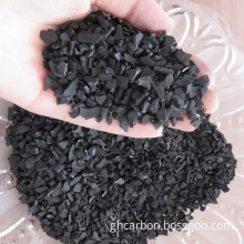 Activated carbon granules filter material with ISO certificate