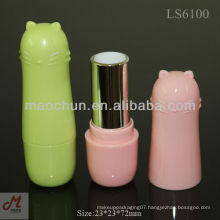 LS6100 Cat head cute customs lipstick tube labels