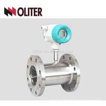 débitmètre à turbine à gaz liquide en acier inoxydable