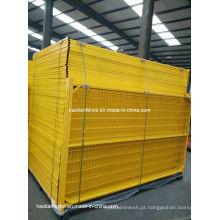 6ftx10FT PVC removível revestido de cerca temporária de Canadá