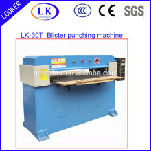 Hydraulic high speed plastic die cutting machine for plastic sheet and vacuum forming products