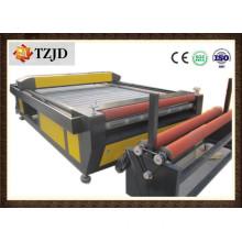 Chinese Manufacturer Auto Feed Fabric Laser Cutting Machine Price