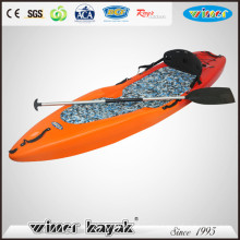 2016 New Rotomold Single Kayak Sit on Top Kayak Leisure Life Popular