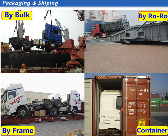 Package concrete mixer truck