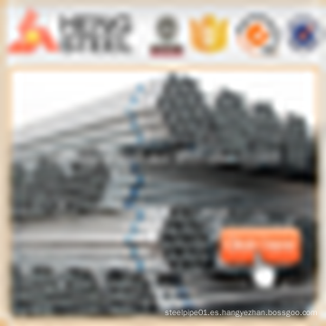 Comercio de Alibaba Tubos de acero galvanizado caliente