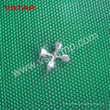 CNC поворачивая подвергая механической обработке для электронной индустрии высокой точности запасные части ВСТ-0902