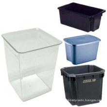 Custom Injection Plastic Storage Boxes With Lids, Molding Parts For Pharmaceutical