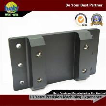 Peças do CNC do alumínio da placa da braçadeira do diodo emissor de luz com linha