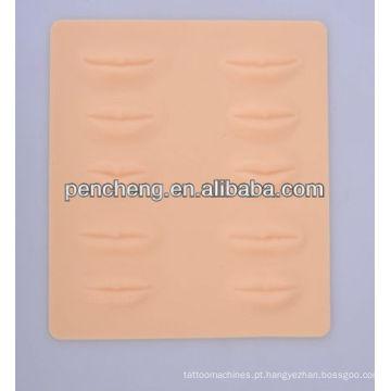 3D Prática de pele de lábio falso de borracha para fornecimento de armazém de estudantes