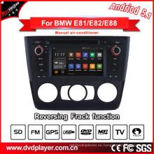 Hla8821 Android 5.1 Car DVD GPS para BMW 1 E81 E82 E88 Navegación Teléfono Android Conexiones