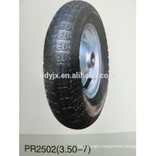 pneumatic wheels 3.50-7
