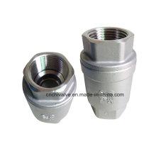 Вертикальный обратный пружинный клапан H12 из нержавеющей стали