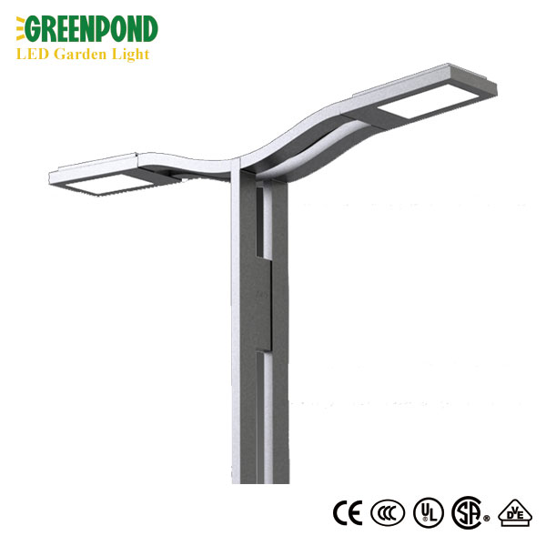 Die-casting Body Material Grey LED Garden Light