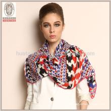 2015 productos nuevos Houndstooth bufanda gruesa larga de las lanas