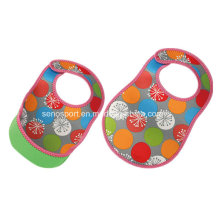 Waterproof Easy Use Neoprene Baby Bib (SNBB02)