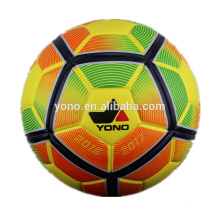 Official size PU leather laminated soccer ball football