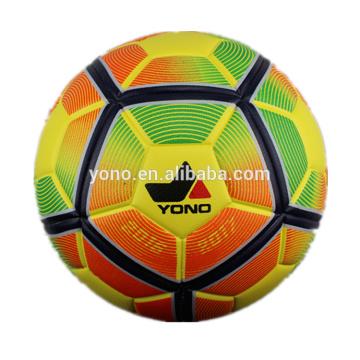 Официальный Размер кожа PU прокатанный шарик футбола футбола