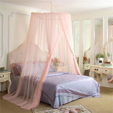 Circular Queen Size Folding Bed Mosquito Curtain