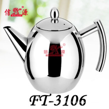 Stainless Steel Round Coffee Kettle (FT-3106-XY)