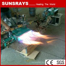 Nuevo tipo de quemador de aire de alta presión de gas de acero inoxidable