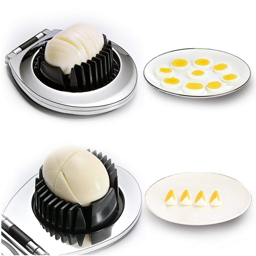 Egg Slicer With Plastic Handle