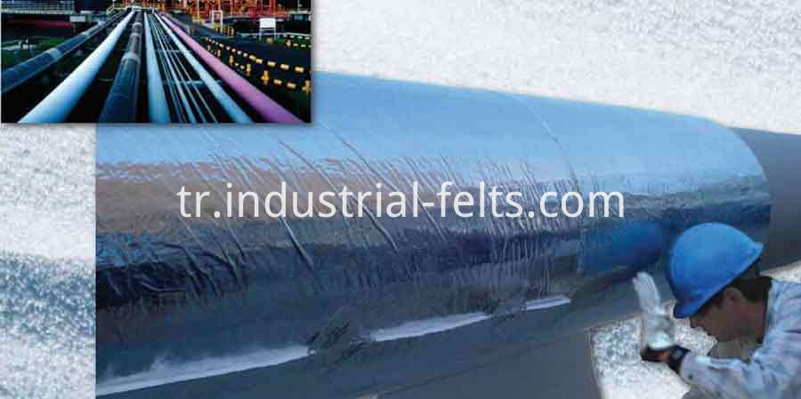 8mm Aerogel blanket For high temperature applications