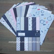 Diseño único A5 Scrapbook Paper Pack Scrapbooking Papel estampado