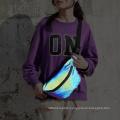 High Visibility Luminous Running Reflective Waist Bag for Men Women