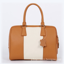 2014 New Arrival Fashionable Women Classic Styling Leather Handbag (50020A)