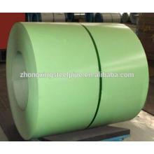 matériaux de toiture prépeint enroulement en acier galvanisé