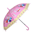 Auto Open Rabbit Printing Pink Children Umbrella (SK-01)