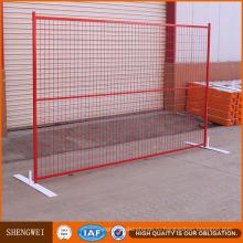 Портативный ПВХ временный забор панели