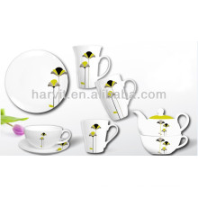 Ceramic Tableware Breakfast Set