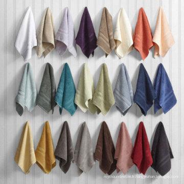 Collection de linge de bain de luxe, couleur personnalisée, taille