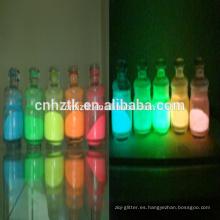 Pigmento fotoluminiscente para fibra luminiscente, etc.