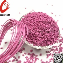 Factory Price for Plastic Color Masterbatch Pink Non-halogen Cable Masterbatch supply to Germany Supplier