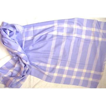 Кашемирская клетчатая шаль из ткани Bfpd008