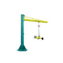 Máquina de carga de vidrio con voladizo y ventosas