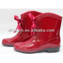 fashion women's pvc ankle sexy rain boots