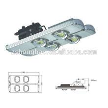 Éclairage à tunnel led extérieur 80w 120w 160w 200w Jetons bridgelux haute puissance Meanwell driver CE ROHS DLC homologation IP65 imperméable à l'eau