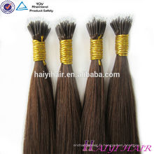 Alibaba Gros Remy Hight Grade Cheveux Vierges Remy Ombre Nano Perle Extensions de Cheveux Humains