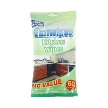 Non alcohol kitchen cleaning antibacterial wipes